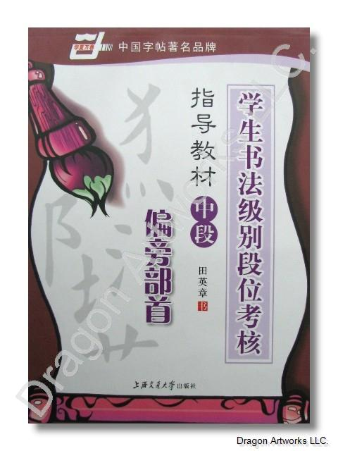 Xingshuzifa Calligraphy Practice Book With Chinese Symbols